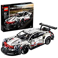 LEGO Technic Porsche 911 RSR 42096 Race Car Building Set STEM Toy for Boys and Girls...