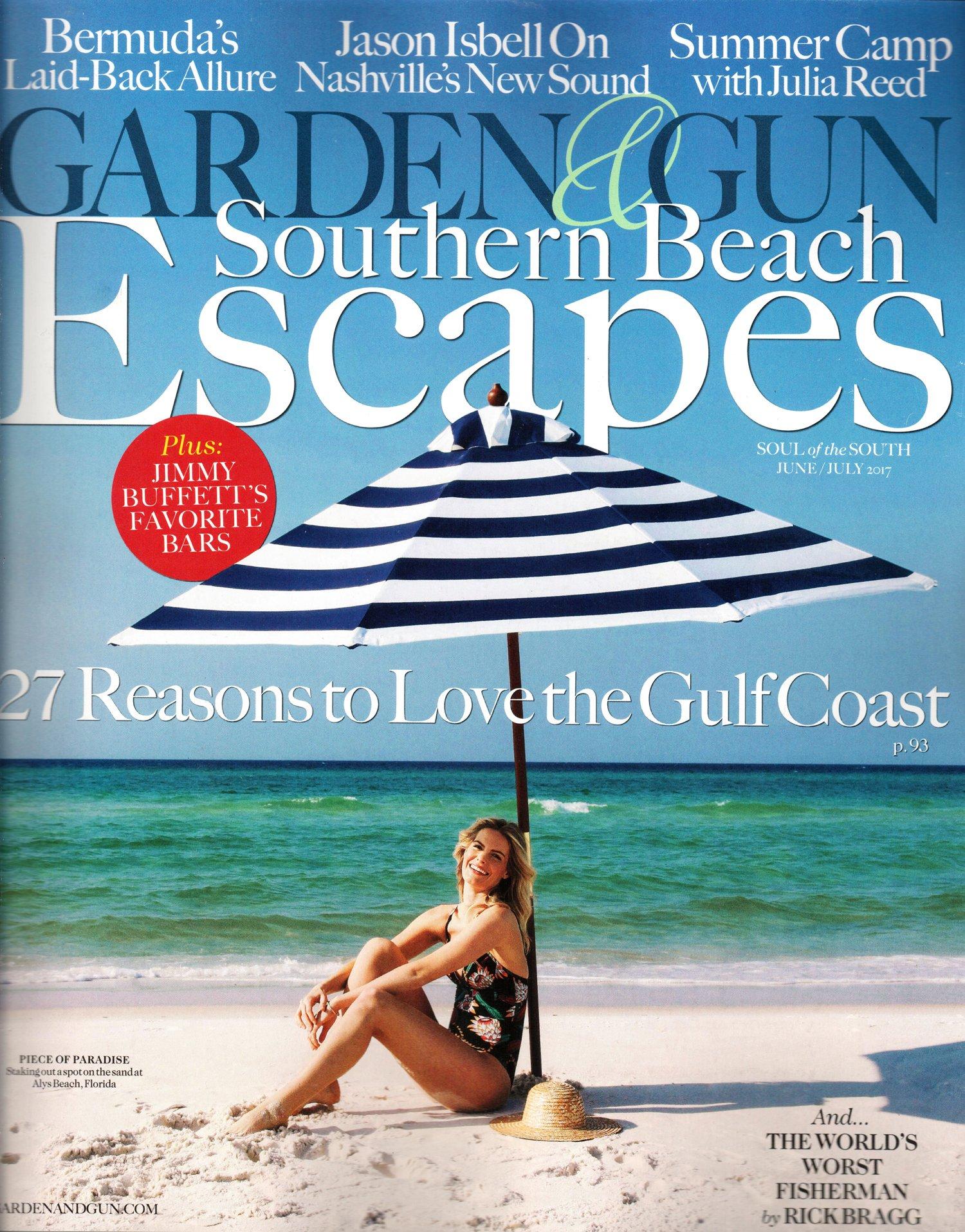 Read Online Garden & Gun Magazine June/July 2017  Southern Beach Escapes ebook