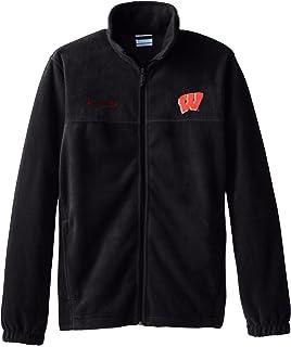 COLUMBIA Wisconsin Badgers Jersey Fleece Jacket Adult MENS//MEN/'S m-medium $60