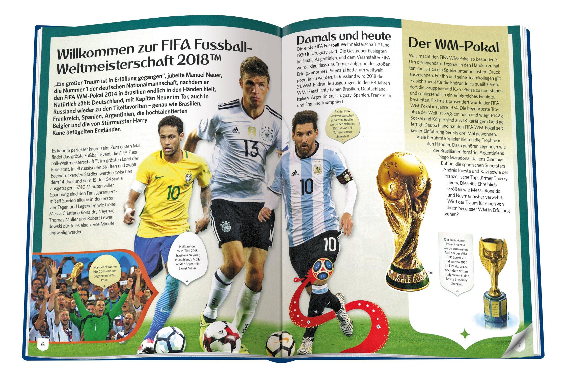 2018 Fifa World Cup Russia Das Offizielle Buch Zur Fifa Wm