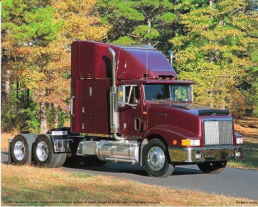 Light Blue Big Rig Truck Transportation Western Star Wall Decor Art Print 16x20
