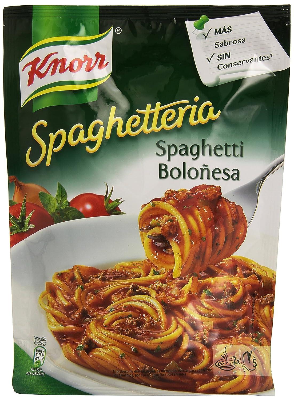 Knorr Spaghetti a la Boloñesa - 175 gr: Amazon.es: Alimentación y bebidas