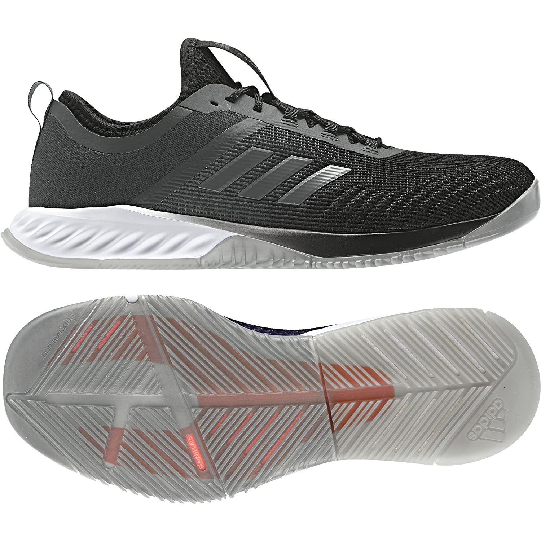 adidas Damen Crazyfast Trainer W Fitnessschuhe  40 EU|Schwarz (Cblack/Dgsogr/Eascor Cblack/Dgsogr/Eascor)