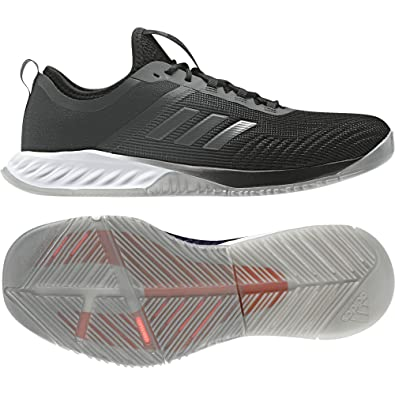 adidas Damen Crazyfast Trainer W Fitnessschuhe  Schwarz (Cblack/Dgsogr/Eascor Cblack/Dgsogr/Eascor)