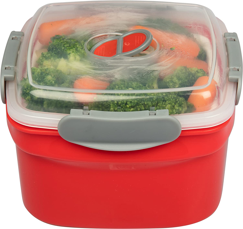 Amazon.com: Microondas Utensilios de cocina steamer- 3 ...