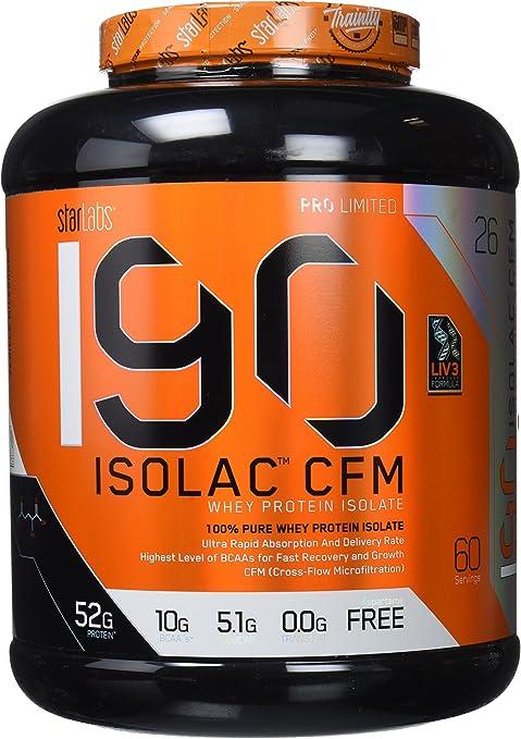 Starlabs Nutrition I90 Isolac CFM Vainilla Milkshake - 1810 gr