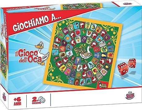 Grandi Giochi GG90024 - Juego de la oca y Vuelta al Mundo [Importado de Italia]: Amazon.es: Juguetes y juegos