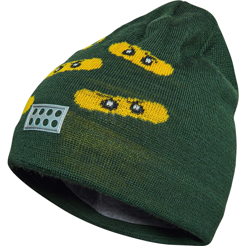 Lego Wear Jungen Ninjago Aiden 730, Cappellino Bambino, Verde (Dark Green 890), 52 cm 20606