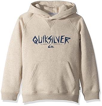 quality design 57cbe 32371 Amazon.com  Quiksilver Boys  Big Rough Type Hoodie Zip Youth Fleece   Clothing