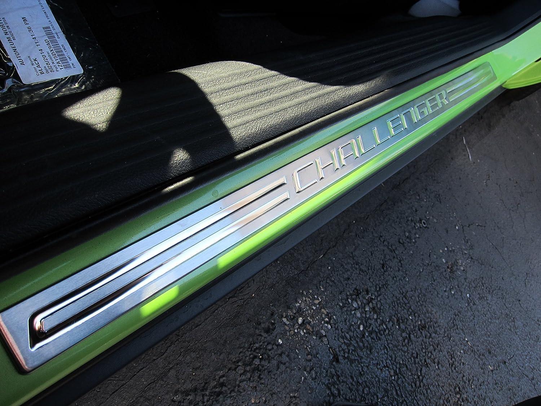 Dodge Challenger Stainless Steel Sill Guards Protectors Set of 2 OEM Mopar