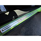 Dodge Challenger Stainless Steel Sill Guards Protectors Set of 2 OEM Mopar