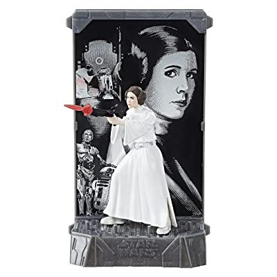 Star Wars The Black Series Titanium Series Princess Leia, 3.75-inch: Toys & Games