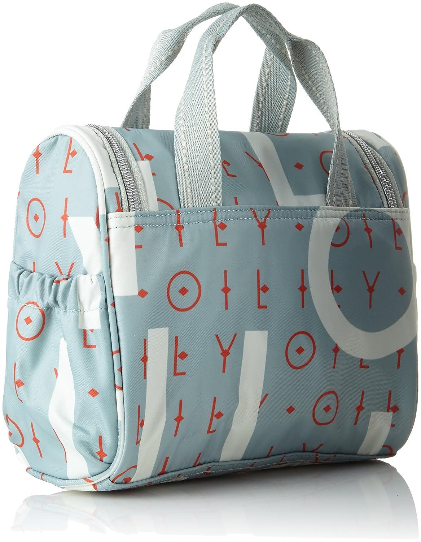Groovy Letters Washbag Mhz 1, Womens Bag Organiser, Blue (Light Blue), 12x21x26 cm (B x H T) Oilily