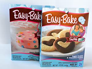 Easy Bake 2 Pk Combo Sugar Cookie & Chocolate Cookie, Devil's Food & Yellow Cake Mixes