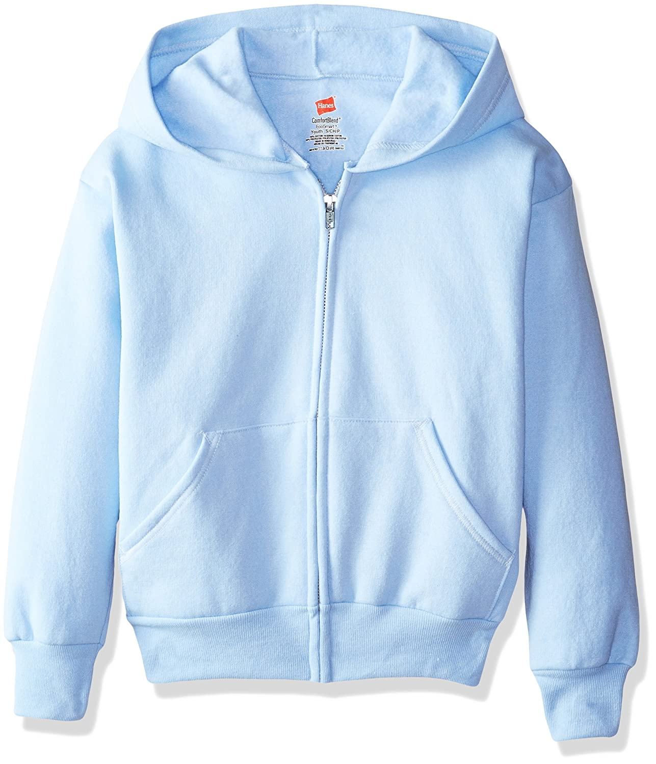 Hanes Big Boys' Eco Smart Fleece Zip Hood Hanes - Boys 8-20 OP480