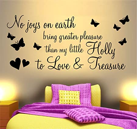 NO JOYS ON EARTH BUTTERFLIES WALL ART STICKER QUOTE ~ IDEAL FOR ...