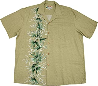 product image for Paradise Found Mens Bamboo Panel 2015 Shirt Khaki M