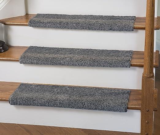 Alfombra Caprice Bullnose para peldaños de escaleras con adhesivo acolchado, de Tread Comfort.: Amazon.es: Juguetes y juegos