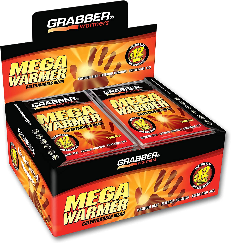 Grabber Mega Warmers Hours Maximum Heat 12 30 Count Renewed