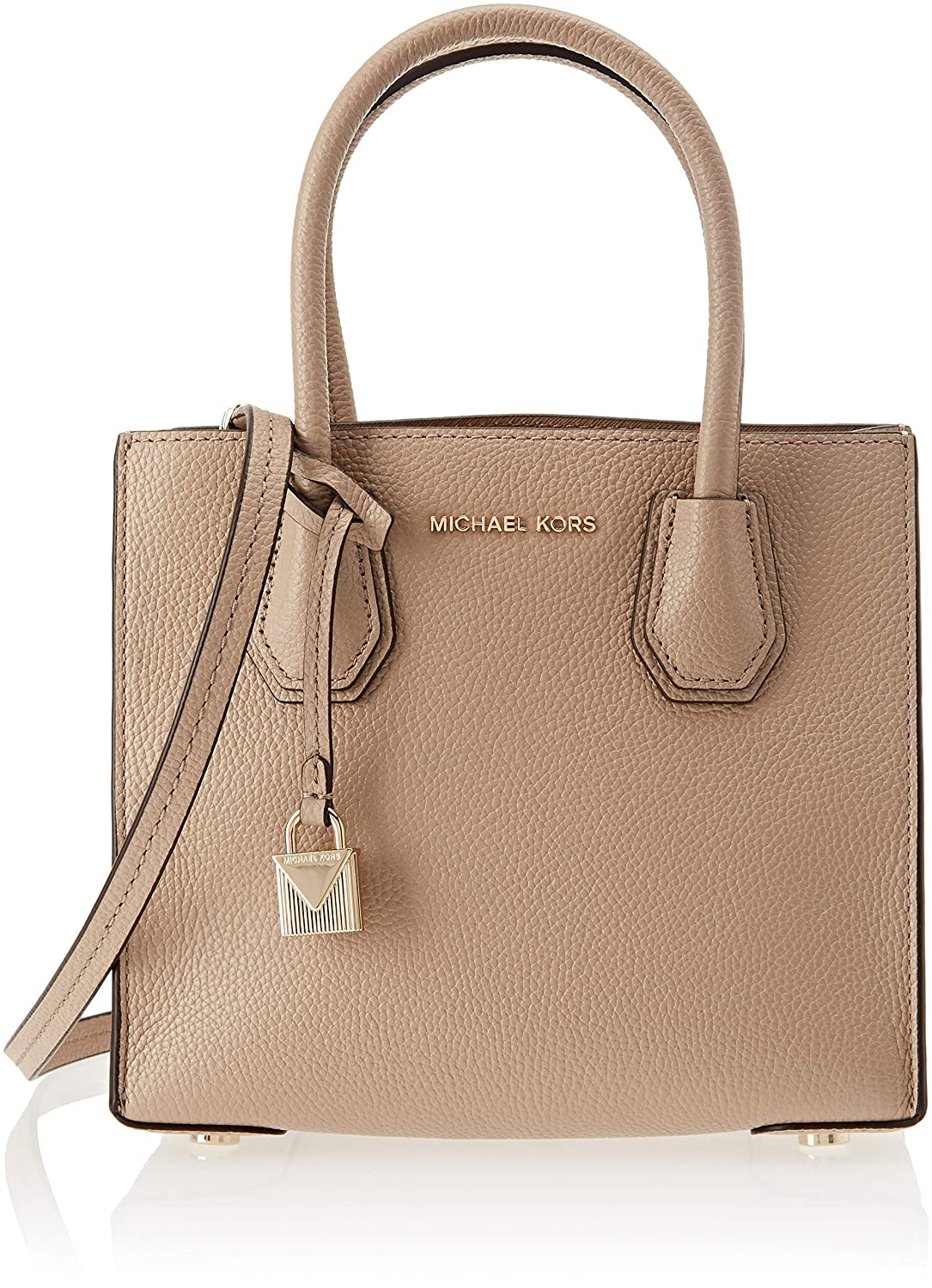 6edd64043d64 Michael Kors Womens Mercer Tote Beige (TRUFFLE)  Handbags  Amazon.com