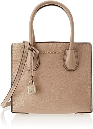32b172b73ea8 Michael Kors Womens Mercer Tote Beige (TRUFFLE)  Handbags  Amazon.com