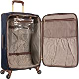 Anne Klein Women's Carry-On Spinner Luggage, Navy