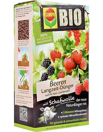 Compo 20299 orgánico Berry Lento-de liberación rápida Fertilizantes Tejido de Lana, 2 kg