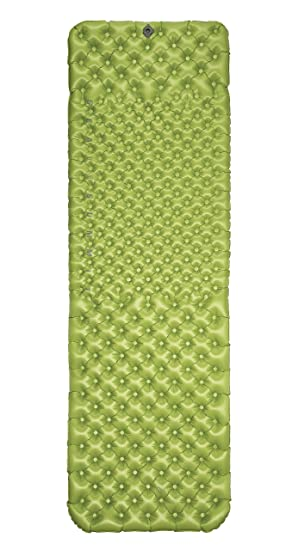 8b0901ce9f1 Sea to Summit Comfort Light Asc Insulated Mat Rectangular Large Sleep Mat  One Size Green