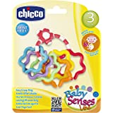 Chicco Baby Senses Line Easy Grasp Ring [Ch5954], Multi Color