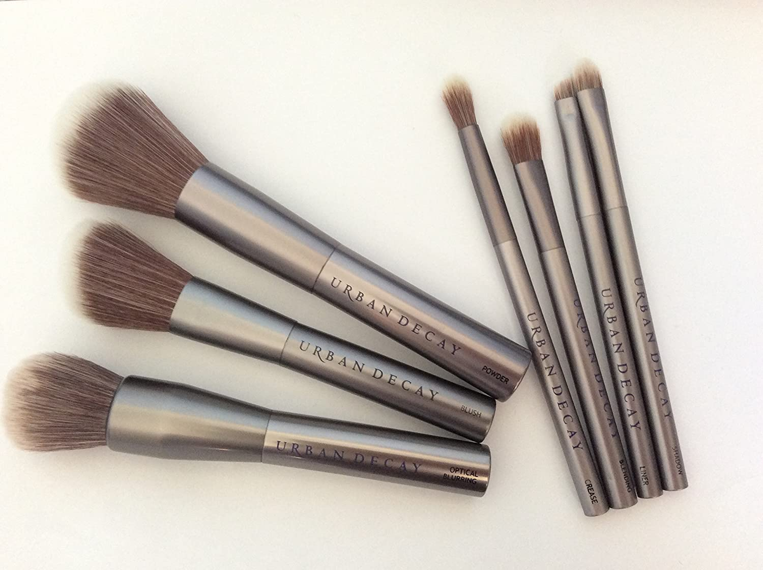 urban decay brushes. urban decay 7 pieces good karma brush set - amazing limited offer: amazon.co.uk: beauty urban decay brushes