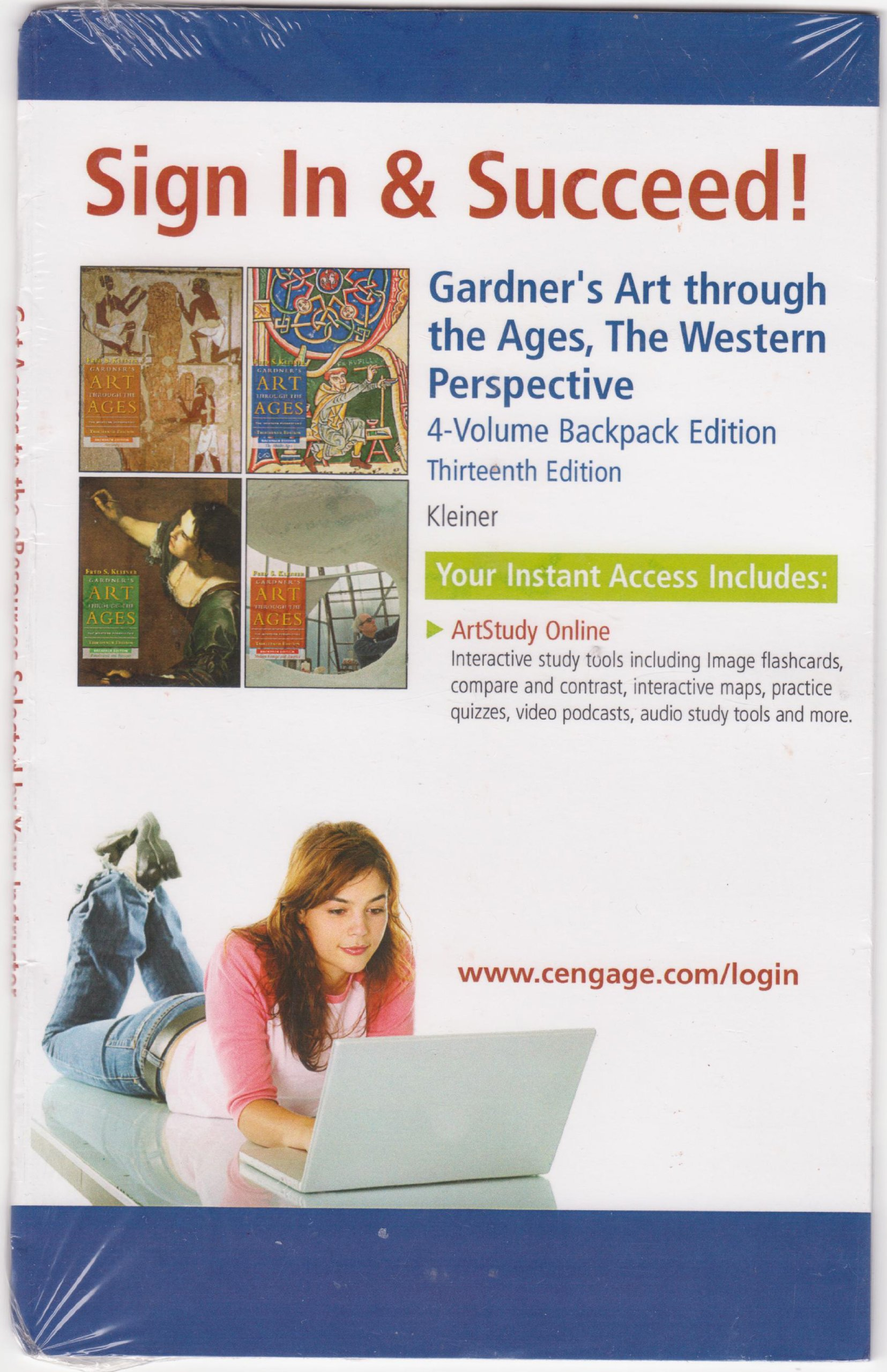 Download Online ArtStudy Printed Access Card for Kleiner's Gardner's Art through the Ages: 4 Volume Backpack Edition PDF