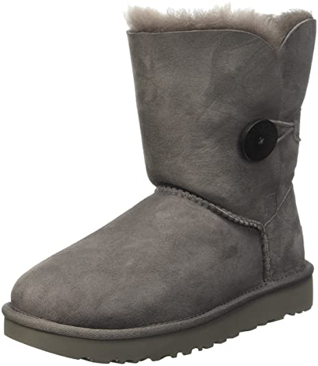 size 40 75f4d 28c78 UGG Australia Bailey Button, Scarpe a Collo Alto Donna