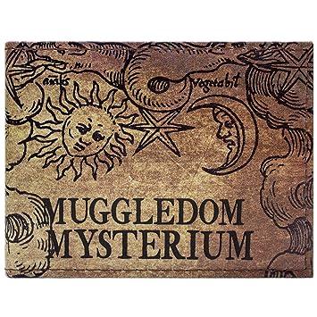 Cartera de Warner Harry Potter Muggledom Diseño marrón