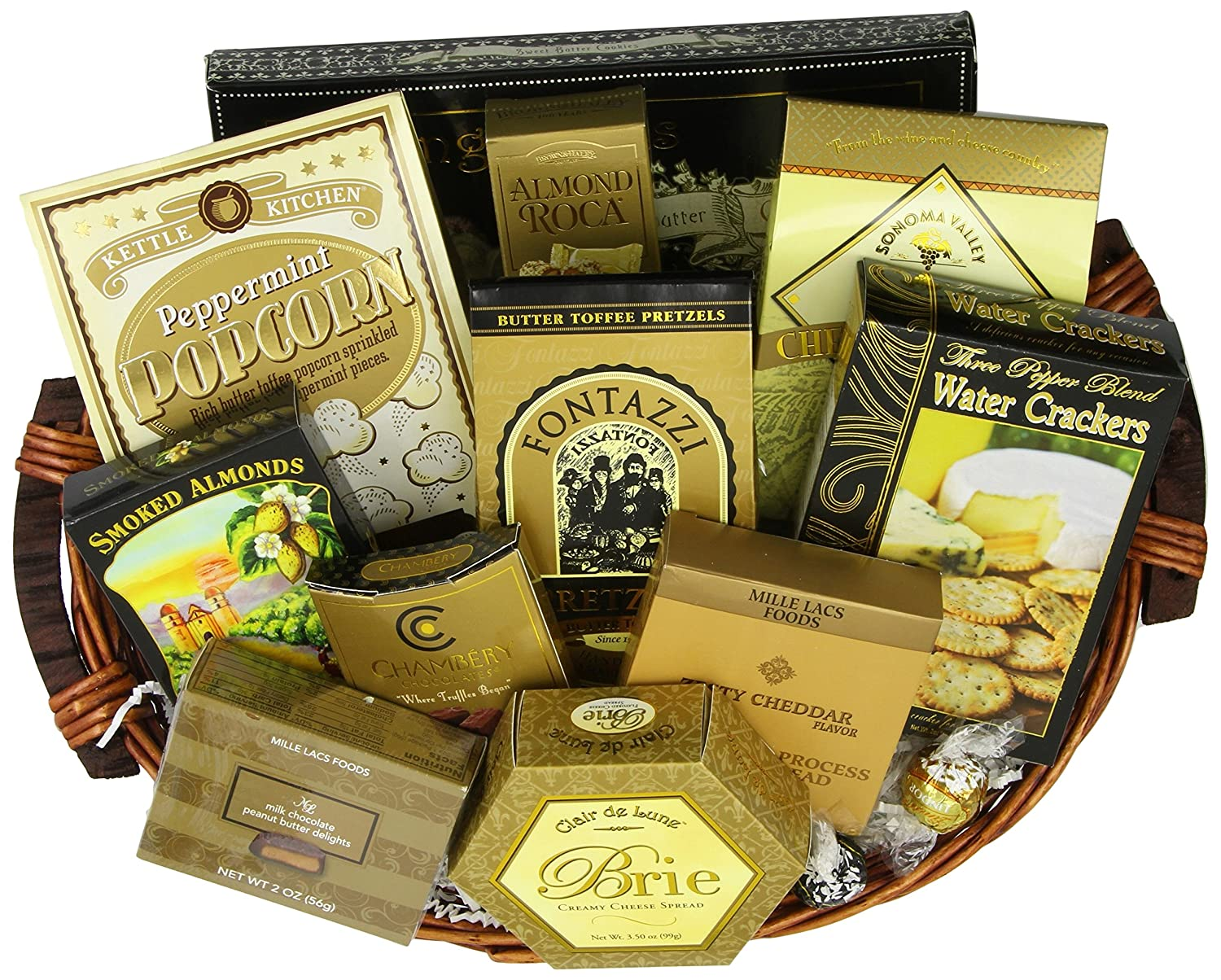 Kitchen Gift Basket Amazoncom Great Arrivals New Years Gift Basket New Years