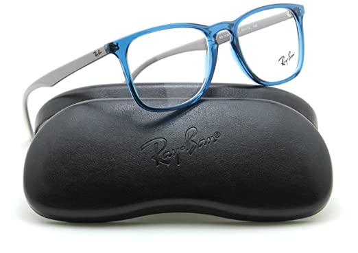 32b340ed01 Image Unavailable. Image not available for. Color  Ray-Ban RX7074 Square  Unisex Prescription Eyeglasses ...