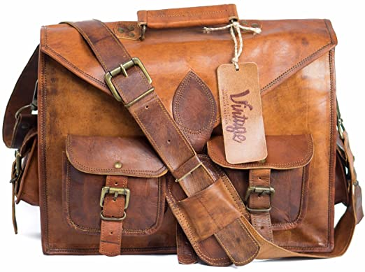 Image Unavailable. Image not available for. Color  Leather Laptop Messenger  Bag for men ... 8f1a1f807f0c8