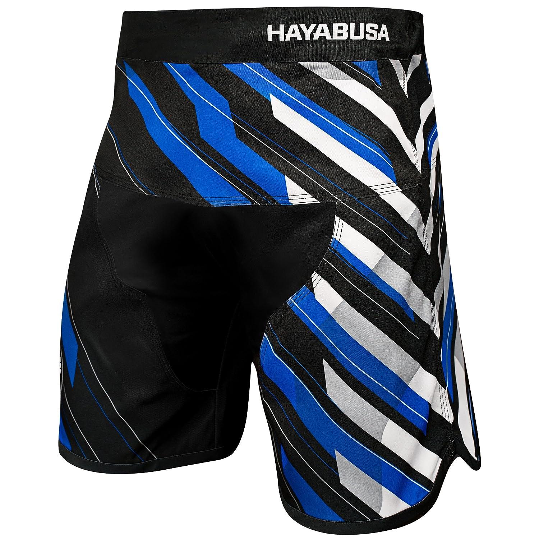 TALLA 34W x Regular. HAYABUSA Metaru Charged Fight Shorts Blue