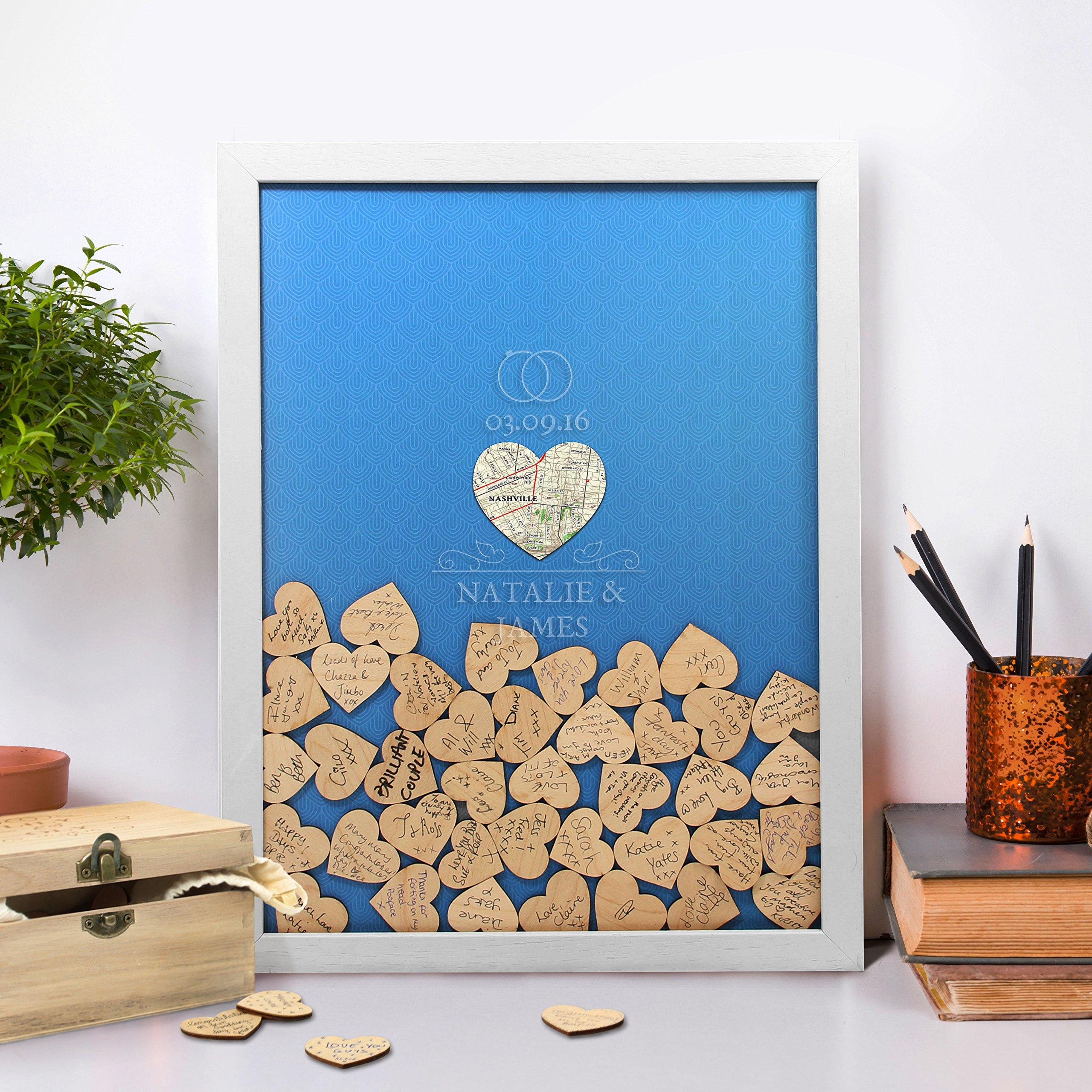 Wedding Drop Box - an alternative Wedding Guest Book (100 tokens, Royal Blue) by Butler and Hill