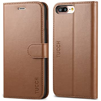 bff27fb9a2 Amazon   iPhone8 Plus ケース 手帳型 TUCCH アイフォン7プラスケース ...