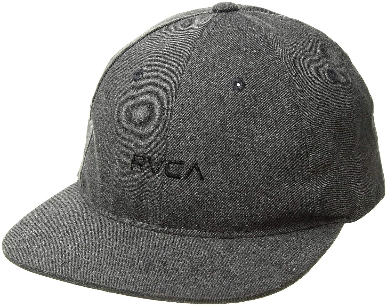 257db3f8ac8702 Amazon.com: RVCA Men's TONALLY Low Cap, Black Haze, One Size: Clothing