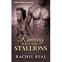 Running with the Stallions: A BBW Shifter Romance (Blackwood Stallions Book 1)