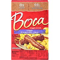 Boca Original Veggie Frozen Breakfast Links (10 Count)