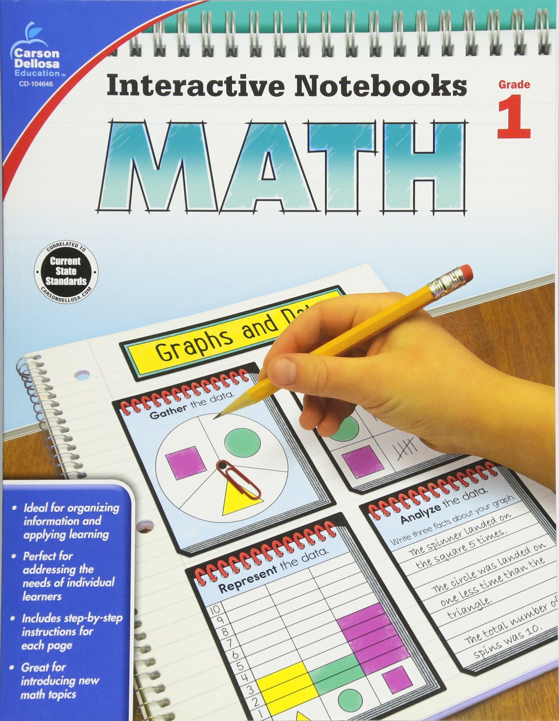 Math Grade 1 (Interactive Notebooks)