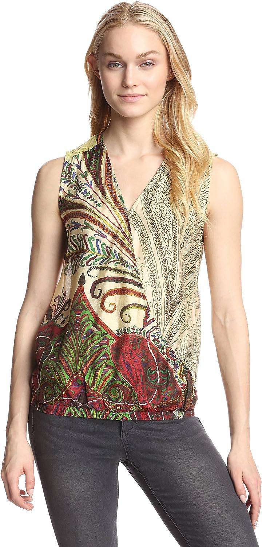 Desigual - Camisas - para mujer multicolor extra-large: Amazon.es: Ropa y accesorios