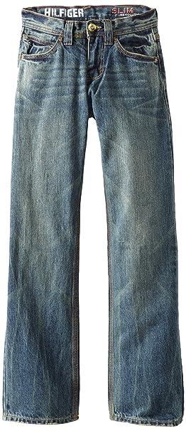 665f9d07296e Tommy Hilfiger Big Boys  Revolution Slim Fit Jean  Amazon.ca ...
