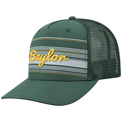 half off 1274c 6a5a9 Image Unavailable. Image not available for. Color  Top of the World Baylor  Bears Official NCAA Adjustable 2Iron Trucker Mesh Hat Cap 394329
