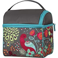 Thermos Raya Double Pack-In Soft Lunch Bag, Colourful Peacock, RAYDLK6CP