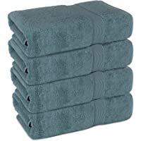 Superior Long-Stable Turkish Bath Towel Set, 700 GSM Cotton Terry Makes The Luxe-Factor