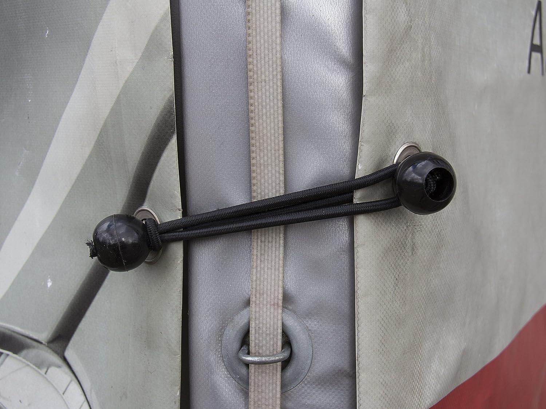 You Are Unitec 10363/10/Black Elastic Straps//Tensioner with Ball 14/cm for Tents netting Tarpaulin Trailer Tarpaulin Tent