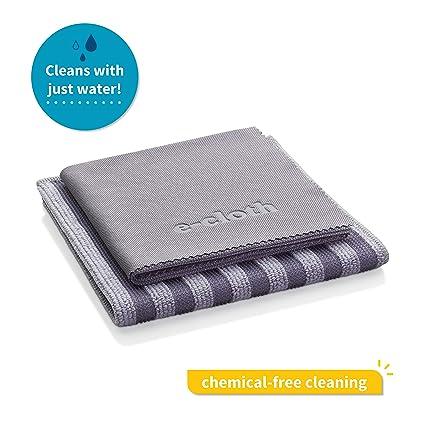 E-Cloth 10617 - Gamuza para limpieza de superficies de acero inoxidable